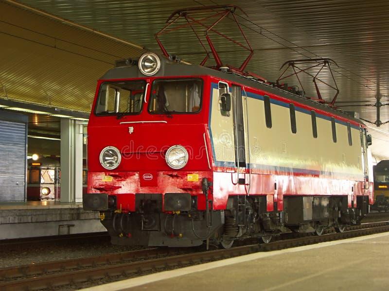 Elektrische Lokomotive stockfoto