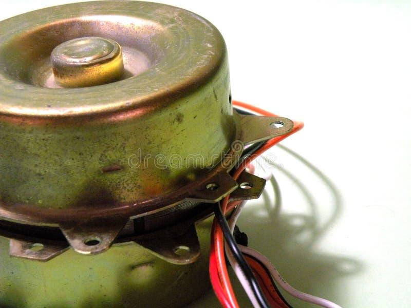 Elektrische motor royalty-vrije stock afbeelding