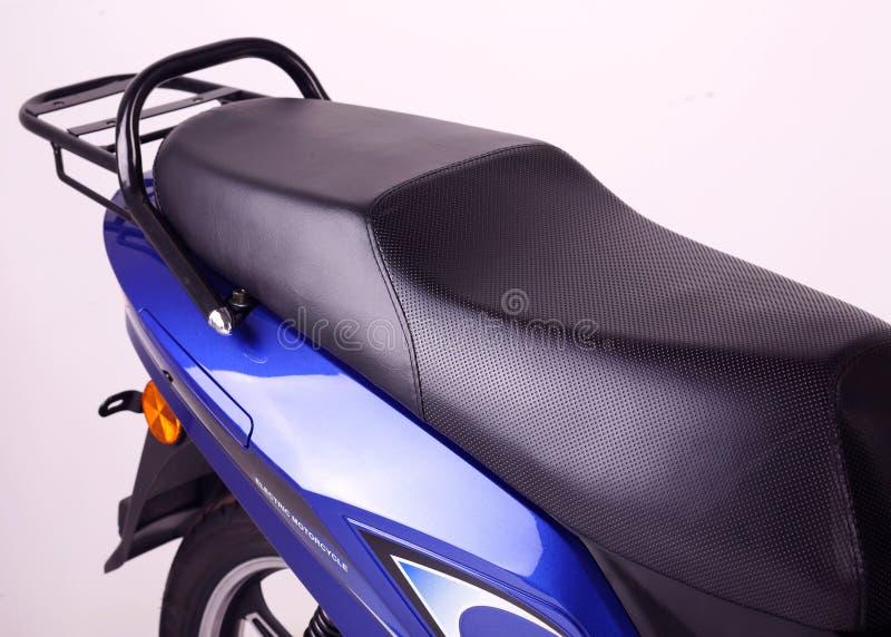 Elektrische motorfiets stock afbeeldingen