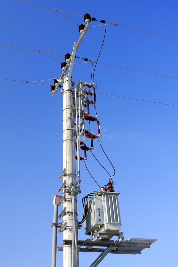 Elektrische post stock foto's