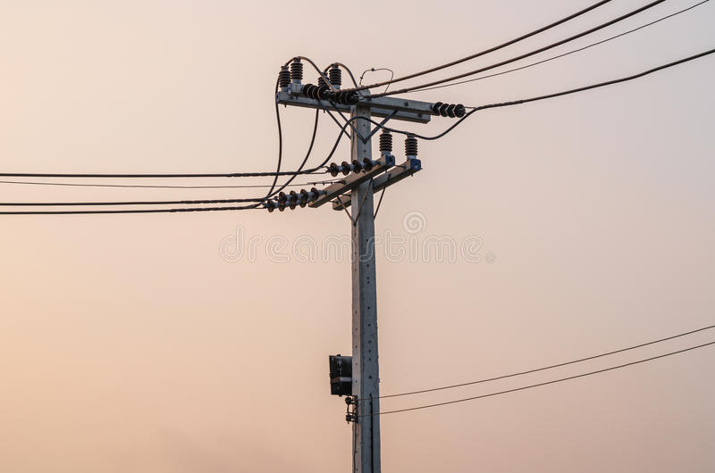 Elektrische post royalty-vrije stock foto