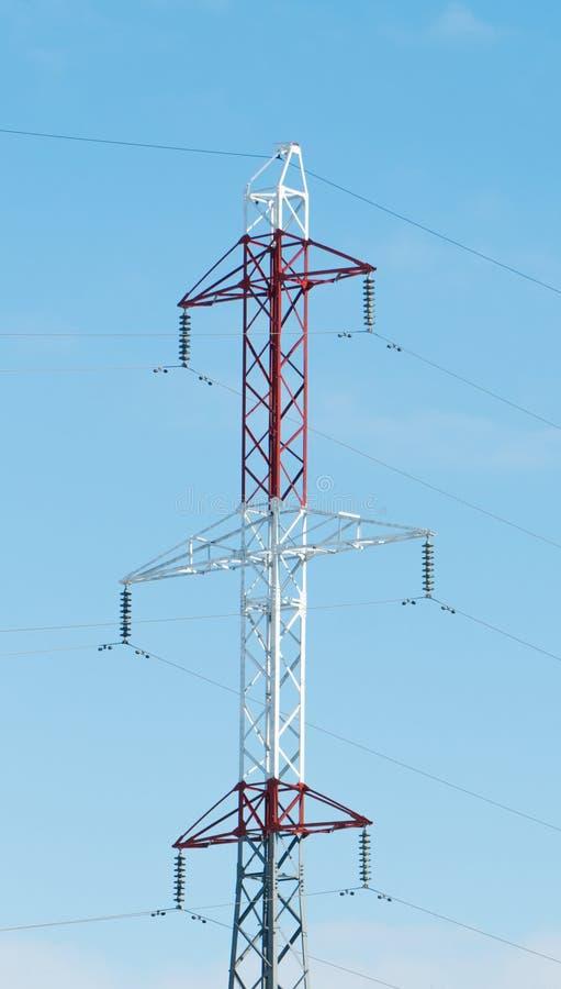 Elektrische post, geïsoleerd stock foto