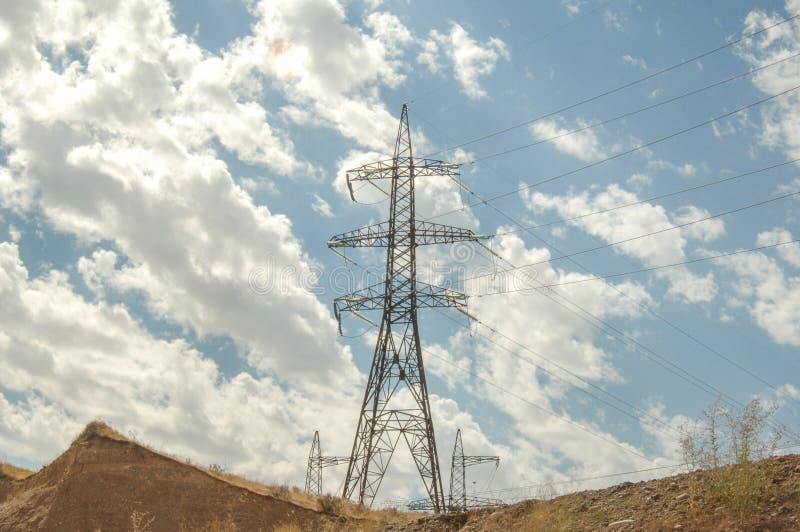 Elektrische post, ge?soleerd stock foto's