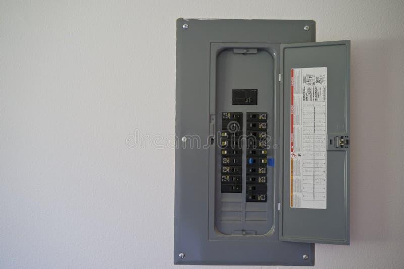 Elektrische Sicherungs-Kasten stockfotos