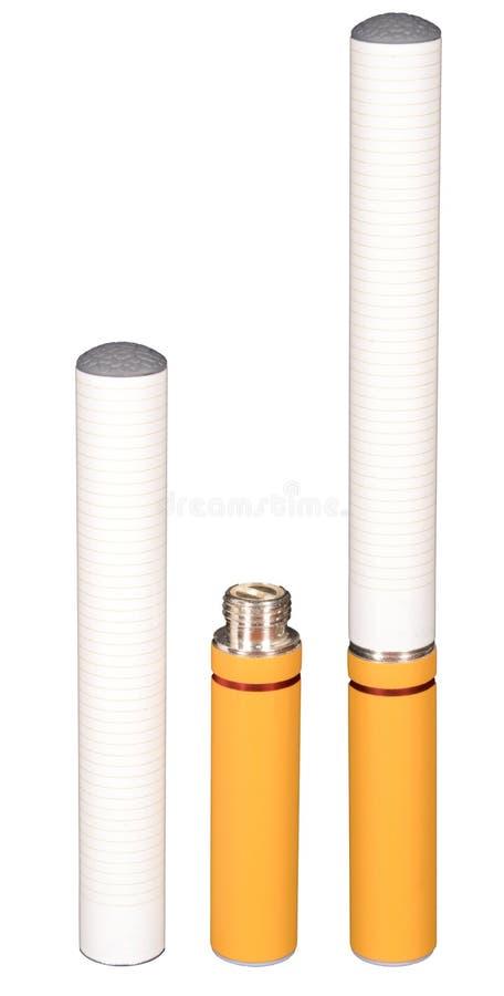 Elektrische Sigaret stock afbeeldingen