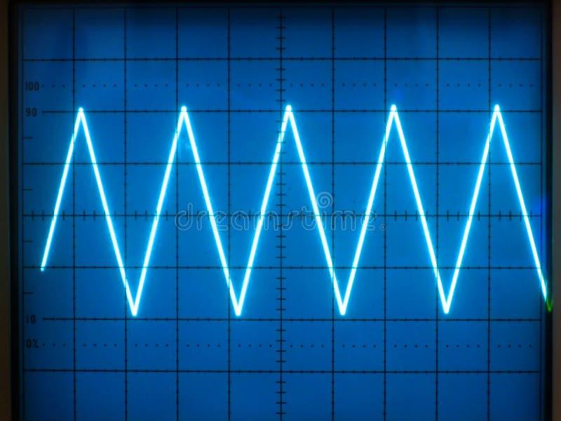 Elektrische Signale stockfoto