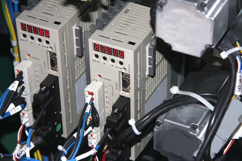 Elektrische Stromkreise, Relais und Kontaktgeber stockfotos