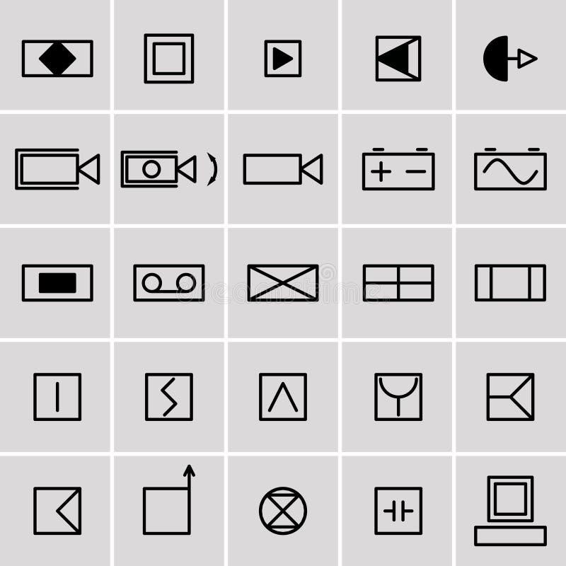 Ziemlich Elektrische Symbole Zeichnungen Fotos - Der Schaltplan ...