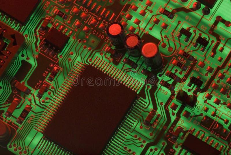 Elektrische Teile lizenzfreies stockbild