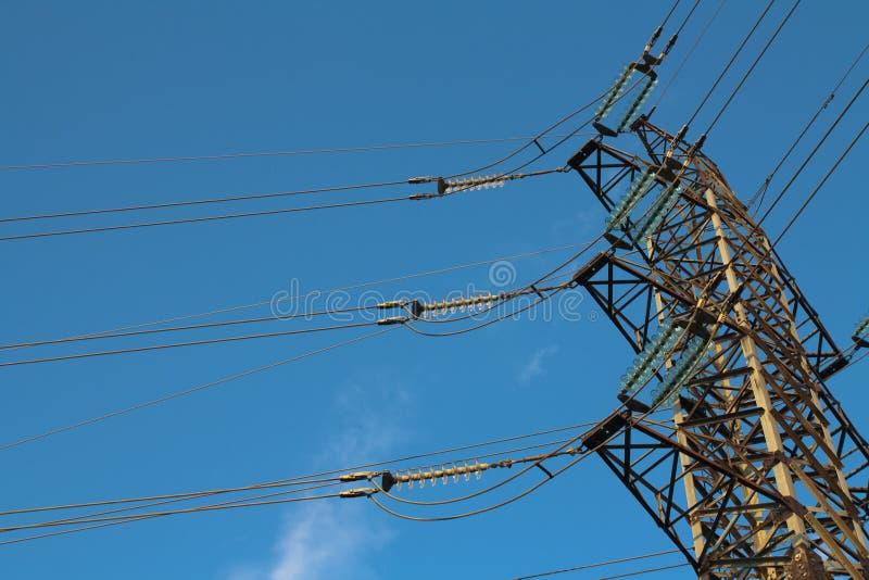 Elektrische toren royalty-vrije stock afbeelding
