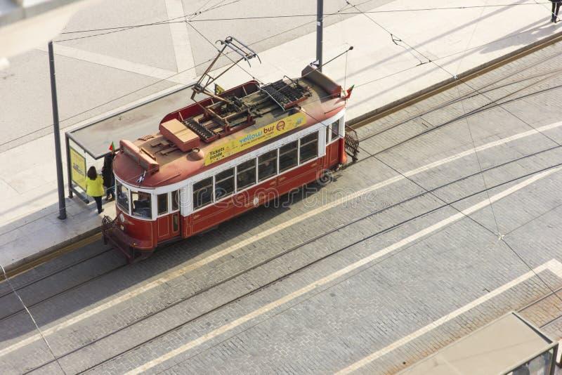 Elektrische trein stock foto