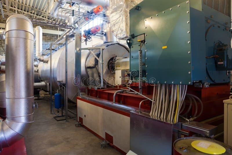Elektrische turbogenerator royalty-vrije stock afbeeldingen