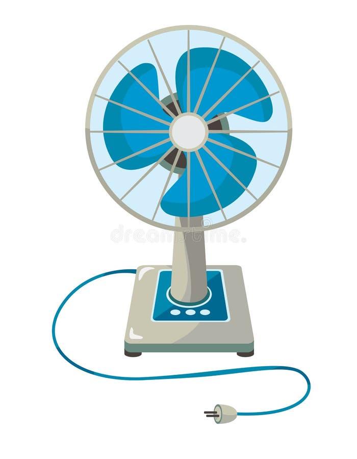 Elektrische ventilator royalty-vrije illustratie