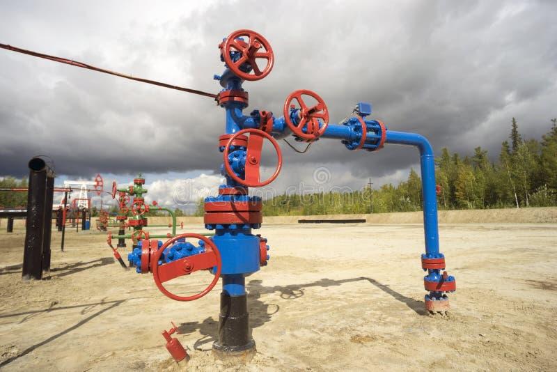 Elektrische versenkbare Pumpen des Öls stockfotografie