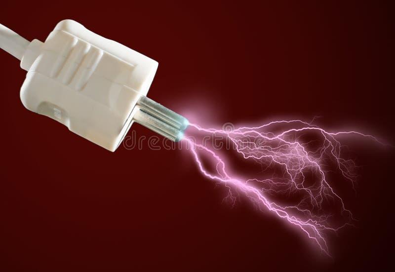 Elektrischer Ableiter. stockbilder