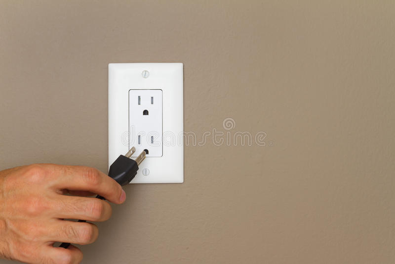 Elektrischer Anschluss lizenzfreie stockbilder