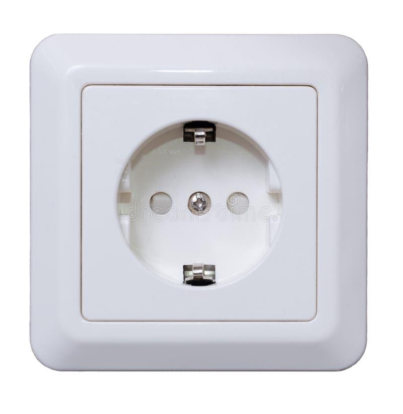 Download Elektrischer Anschluss stockbild. Bild von getrennt, ampere - 27727033