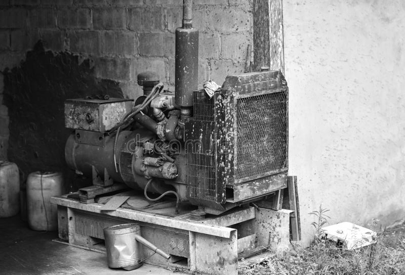 Elektrischer Generator Dynamo stockbild
