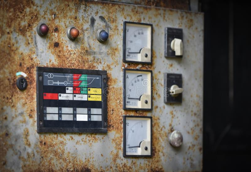 Elektrischer Generator Dynamo stockfotos