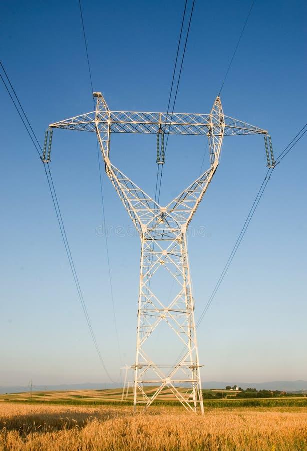 Elektrischer Gondelstiel stockfotos