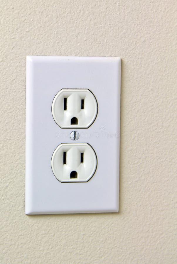Elektrischer Haus-Anschluss 110 lizenzfreie stockbilder