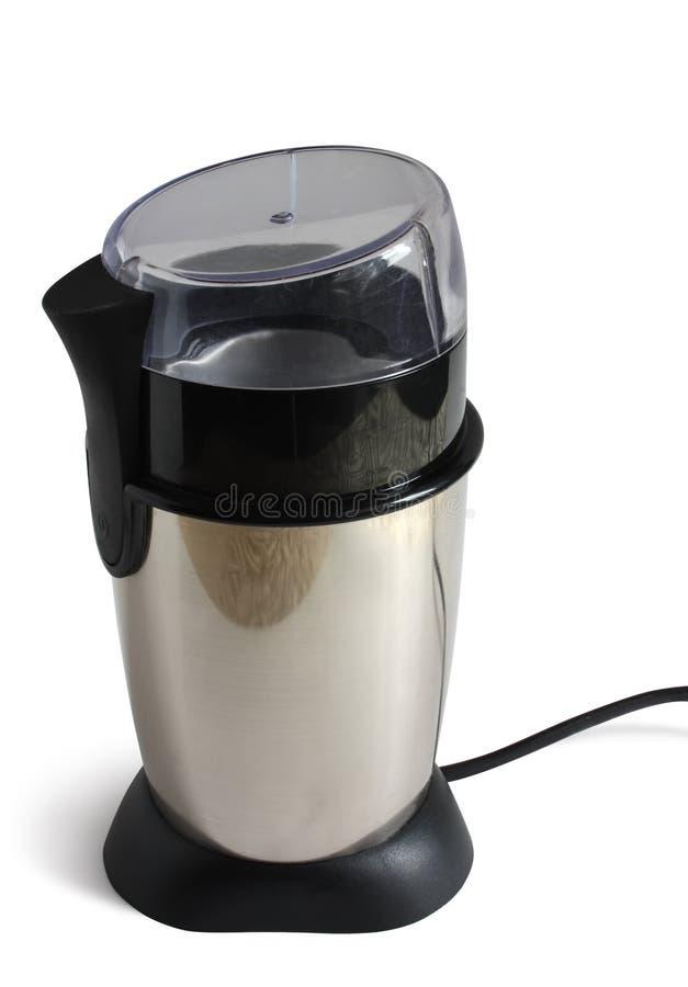 Elektrischer Kaffeeschleifer. lizenzfreies stockbild