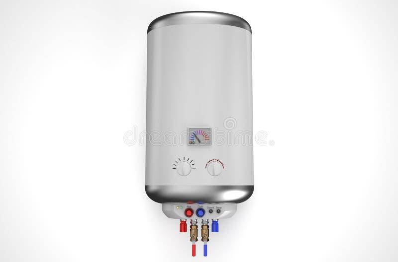 Elektrischer Kessel, Warmwasserbereiter Stock Abbildung ...