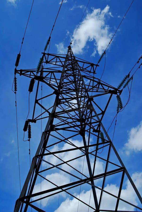 Elektrischer Kontrollturm stockbilder