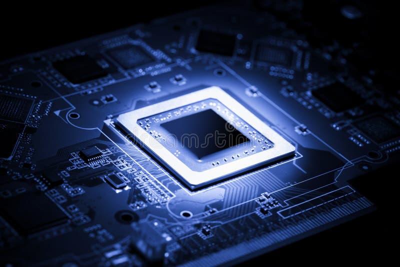 Elektrischer Prozessor lizenzfreies stockbild