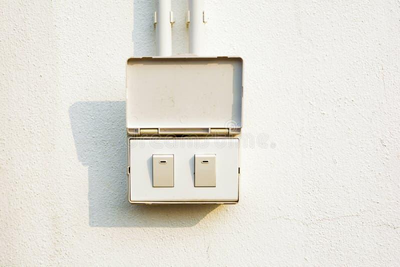 Elektrischer Schalter lizenzfreie stockbilder