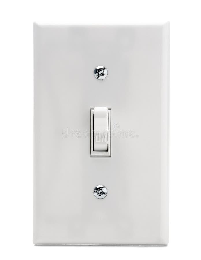 Elektrischer Schalter stockfoto. Bild von schalter, getrennt - 8796060