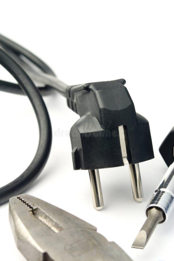 Elektrischer Seilzug stockfotos
