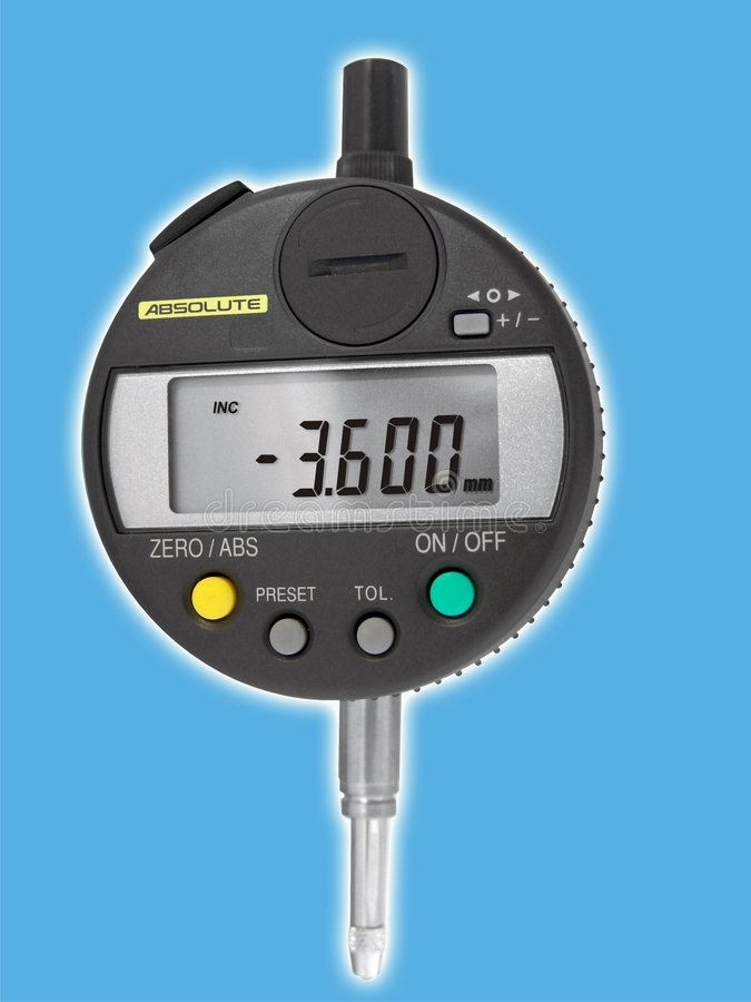 Elektrischer Sensor lizenzfreie stockbilder