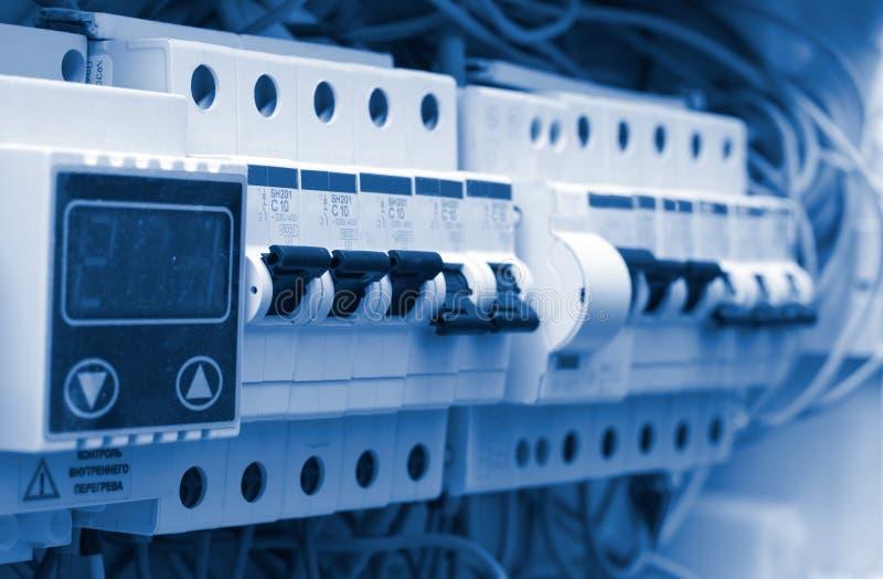 Elektrischer Vorstand lizenzfreies stockfoto