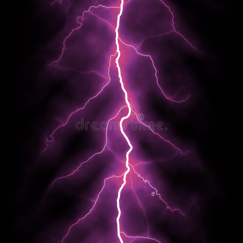 Elektrisches Beleuchtungshintergrundrosa stock abbildung