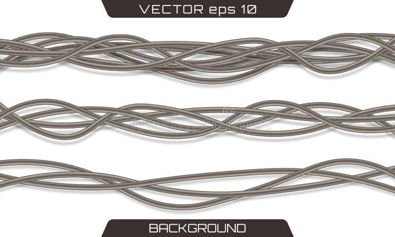 Elektrisches graues industrielles vektor abbildung