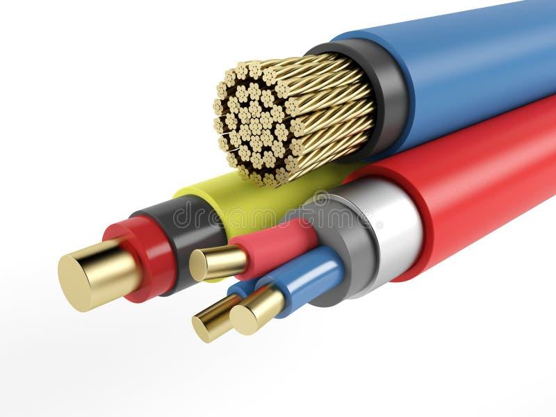 Ausgezeichnet Elektrische Kabel Identifizieren Ideen - Elektrische ...