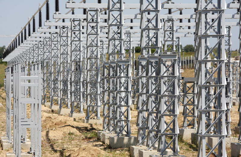 Elektrisches System stockfoto