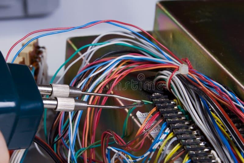 Elektrisk apparat royaltyfri fotografi
