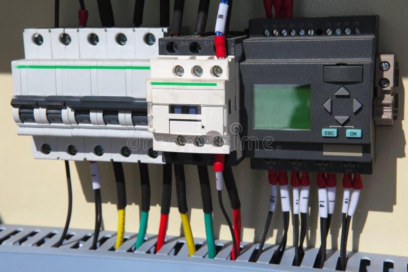 elektrisk automation royaltyfri bild