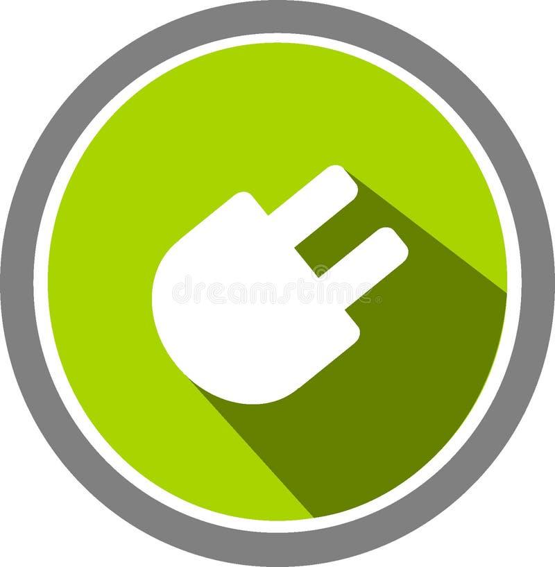 Download Elektrisk Bildlogo Och Mall Stock Illustrationer - Illustration av alldeles, montering: 106833613