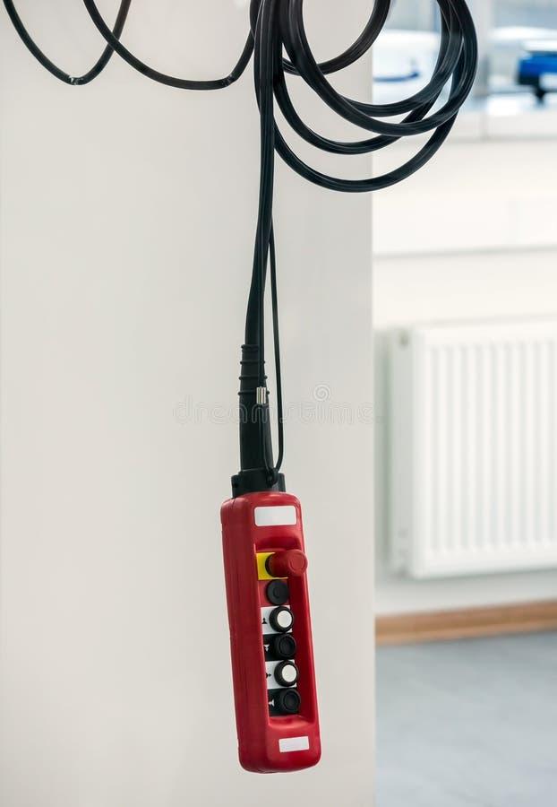 Elektrisk fjärrkontroll fotografering för bildbyråer
