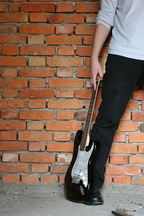elektrisk gitarr arkivfoton
