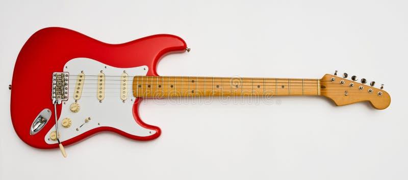 elektrisk gitarrred arkivfoto