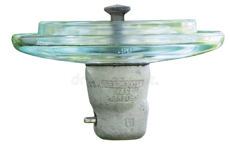 Elektrisk Glass isolator arkivfoton