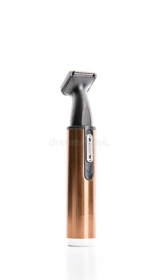 Elektrisk hårskärare, trådlös clippercloseup arkivfoto