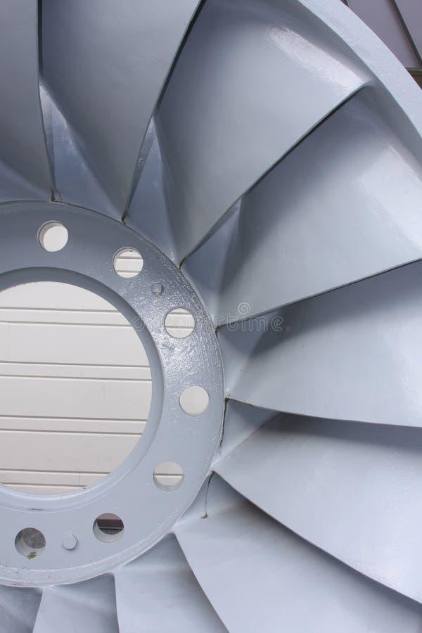 elektrisk hydroturbin för blad arkivfoton