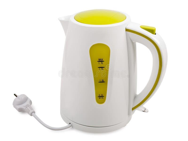 elektrisk kettle fotografering för bildbyråer