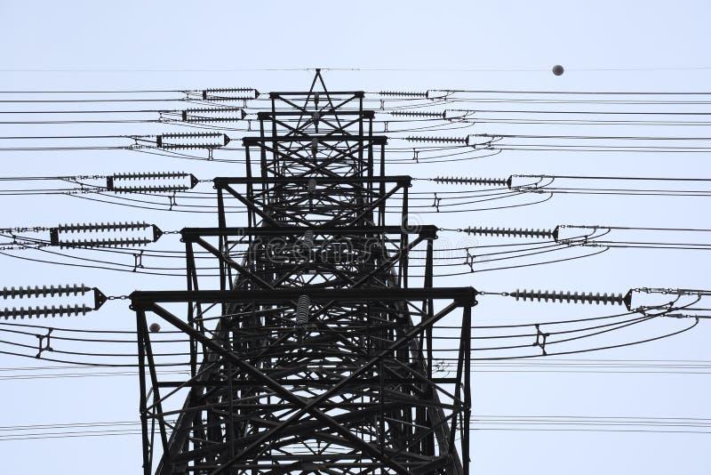 elektrisk linje arkivbilder