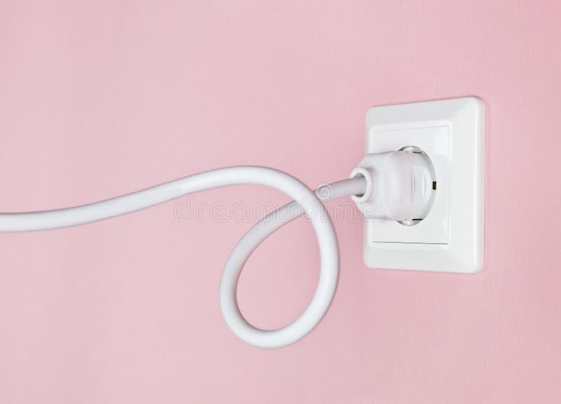 elektrisk linje ström royaltyfri foto